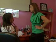 Georgia Jones gets punished by Francesca Le