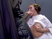 Horny princess Allie Haze Star Wars Sn 1