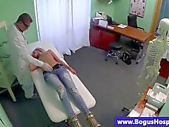 Doctor is taking advantage of his patient