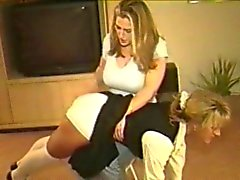 spanked by girlfriend