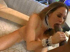 Chanel Hot Maid VS MANDINGO BIG BLACK COCK !