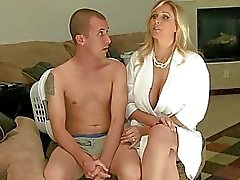 Booby MILF Julia Ann gives head and fuck