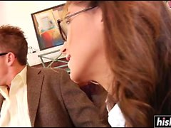 Jenna Haze is a naughty secretary