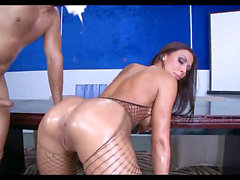 Rachel Starr riding and caboose jiggling Compilation (Part 1)