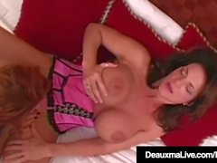 Mature Milfs Deauxma & Janet Mason Pussy Fuck With Big Dildo