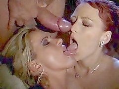 Silvia Christian & Ester Smith - FFM Threesome
