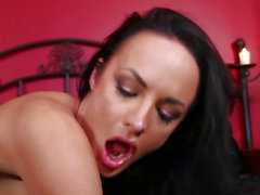 Deepthroating hottie drilled hard by maledom