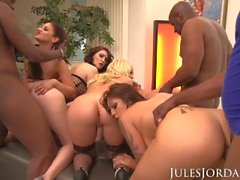 Jules Jordan - Orgy Masters Party Guess Who Gets DP'd