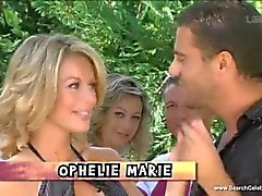 Hot girls in popular french reality sex show