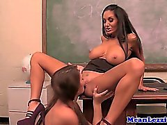 Ava Addams schooling young lezzies