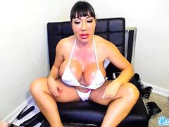 CamSoda - Ava Devine with big tits toys