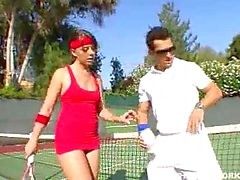Penny Flame fucked by her tennis coach