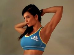 Denise Milani in Adidas Top 2 - non nude
