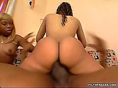 Ms Goddess and Sensious had a matched pair of big asses