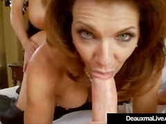 Texas Cougar Deauxma Fucks & Sucks Kelly Madison & Hubby!