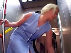 cleaning lady tortured