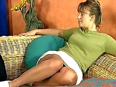 Milf babe slutty fuck action loves pumping dick