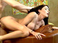 super HOT BRUNETTE penetrated stiff ft.JESSICA JAYMES