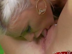 Ashley Bulgari With Super Hot Blond Lesbian Fun