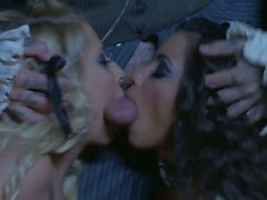 Crazy sex with Madison Ivy and Lupe Fuentes