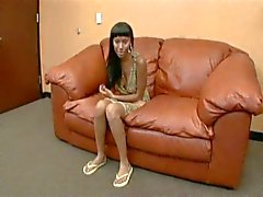 Ebony teen nailed in office interview