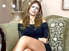 Hot interview with nasty milf Monique Fuentes