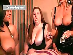 Kinky Carmen and two huge babes get part6