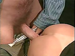 sexy Milf fucked by two men