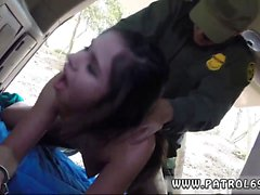 Bree olson cop Pale Cutie Banging on the Border
